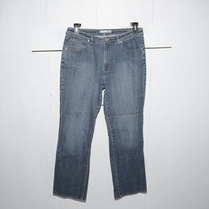 Chico's marquis womens jeans size 2 x 30  496